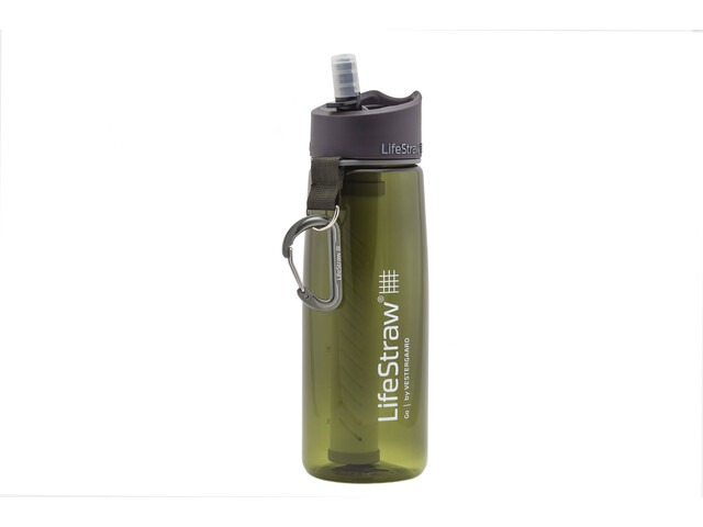 LifeStraw Go 2-Stage Drinking Bottle with Water Filter green